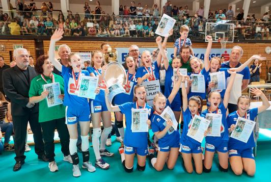 BG/BRG Hartberg ist der neue Sparkasse-Schülerliga Volleyball Bundesmeister
